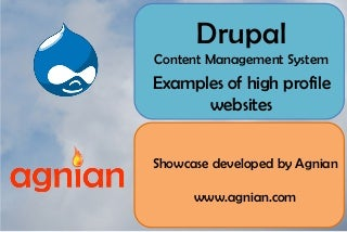 High Profile Websites Powered by Drupal