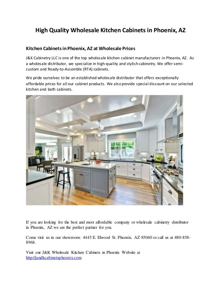 High Quality Wholesale Kitchen Cabinets In Phoenix