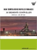 High temperature muffles furnaces 30 segments controller