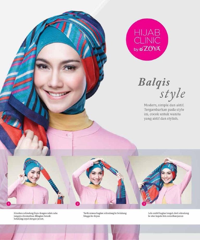 Hijab Tutorial Zoya Balqis Style Uploaded By Kerudungbandungdotcom