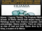 """AL-HIJAMA"" - A Forgotten Sunnah - (Blood Cupping Therapy) A Cure For Every Disease"