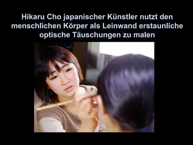 Hikaru Cho - Japanese body painting