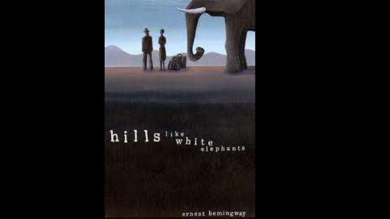 the feminist view on ernest hemingway s hills like white elephants Hills like white elephants shows the stereotypical relationship between a man and a woman in the early 20th century threw characterization, imagery, and dialog hemingway shows male dominance over women and the submissiveness that women had in that time period.