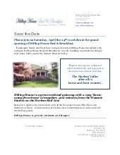 Hilltop House Press Release