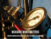 Measure What Matters: Measurement & ROI for Hyper Island Master Class