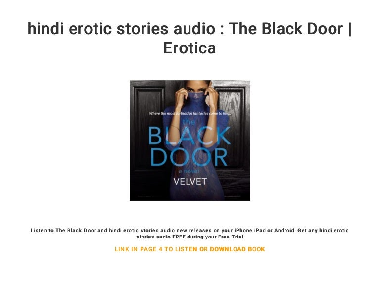 Free black erotic story