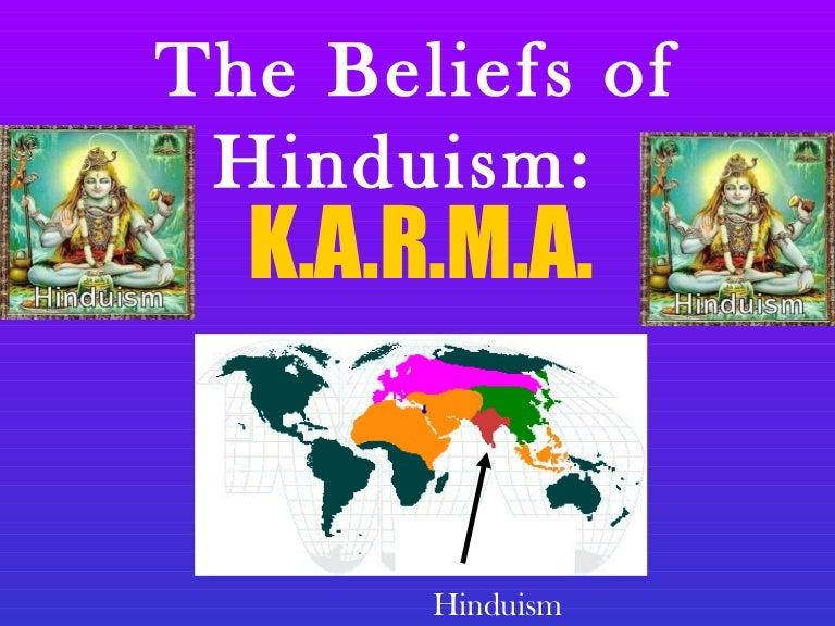 hindu beliefs about karma