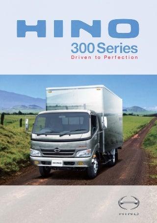 Catálogo Hino Serie 300