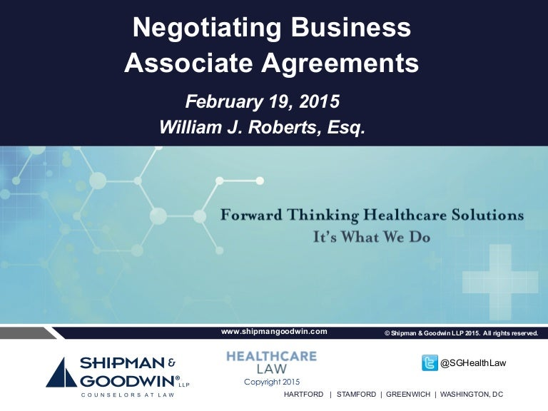 HIPAA Compliance and NonBusiness Associate Vendors Strategies and – Business Associate Agreement Template