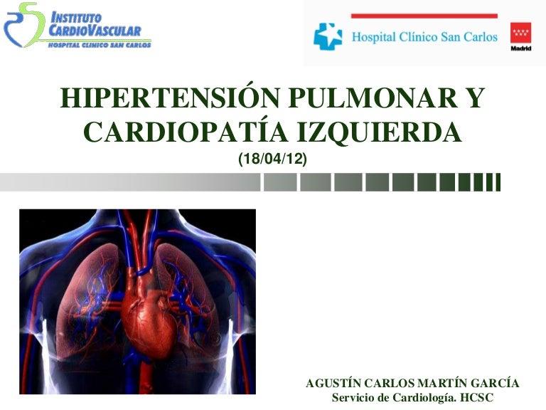 ¿Qué es una alta tasa de hipertensión pulmonar?