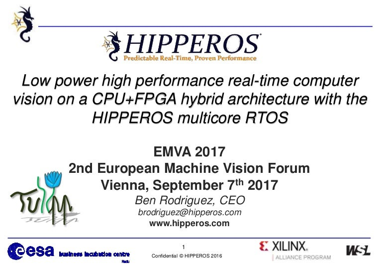 HIPPEROS's at EMVA 2017