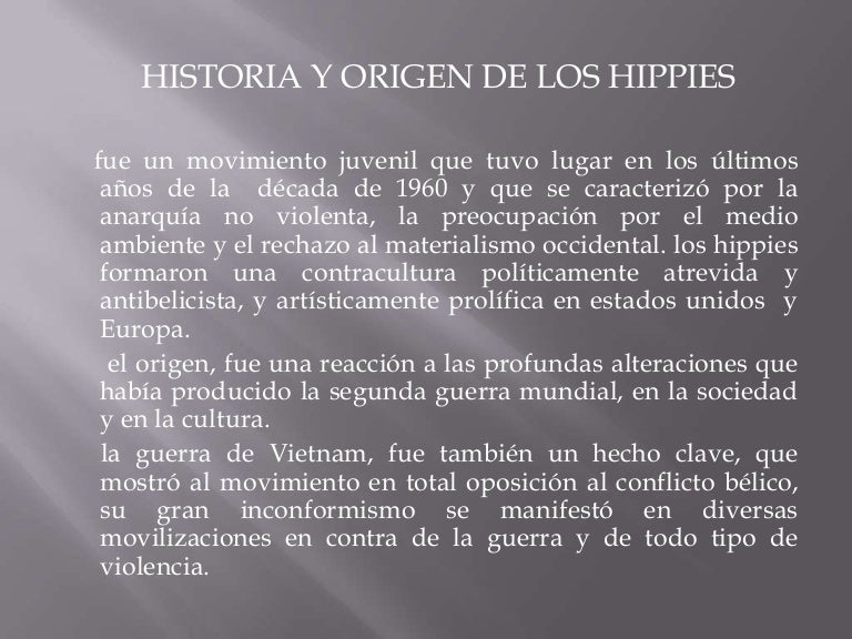 50c9906be Hippies