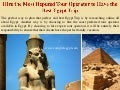 Hire the most reputed tour operator to have the best egypt trip