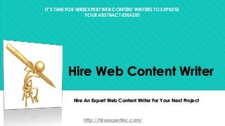 Content writing jobs in it park chandigarh