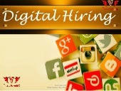 Hiring through social media ppt