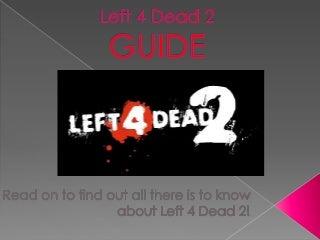 Hisham & Lee Gamers Lounge Ep.1 - Left 4 Dead 2