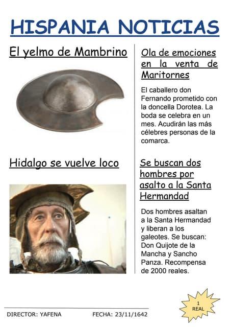 Hispania noticias. Quijote News