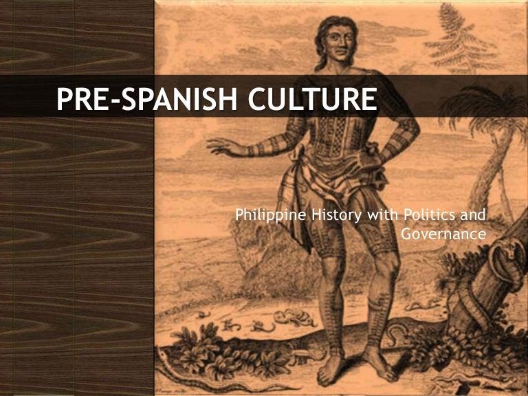 Hist2 4 Pre Spanish Culture