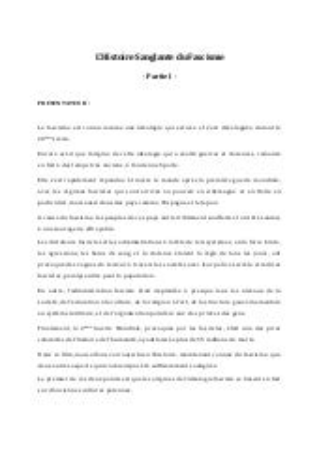 Histoire sanglante du fascisme. french. français