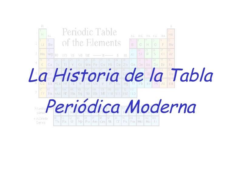 Historia de la tabla peridica urtaz Choice Image
