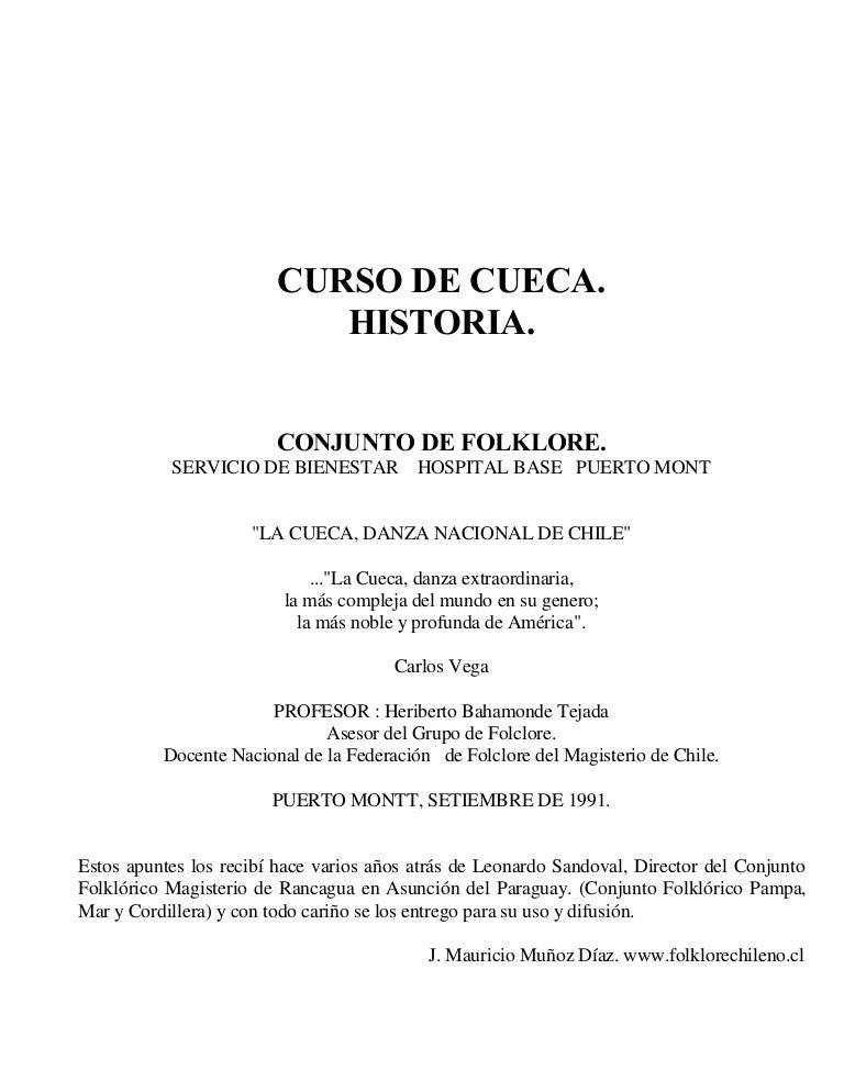 Historia De La Cueca