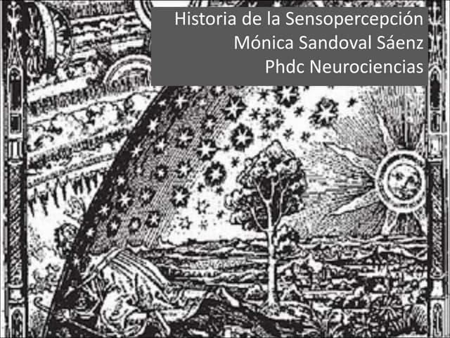 Historia de la sensopercepción - Psicofísica