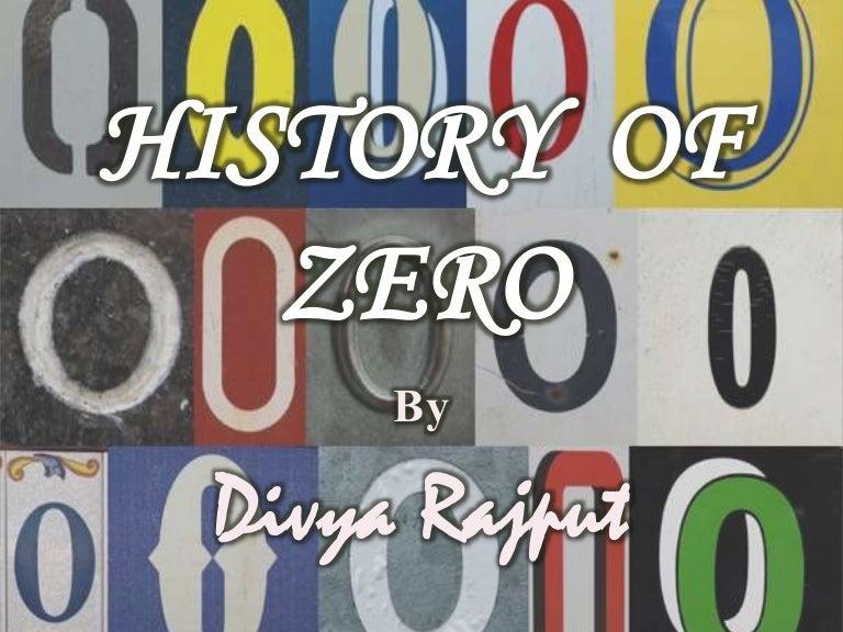 History Of Zero Mathematics