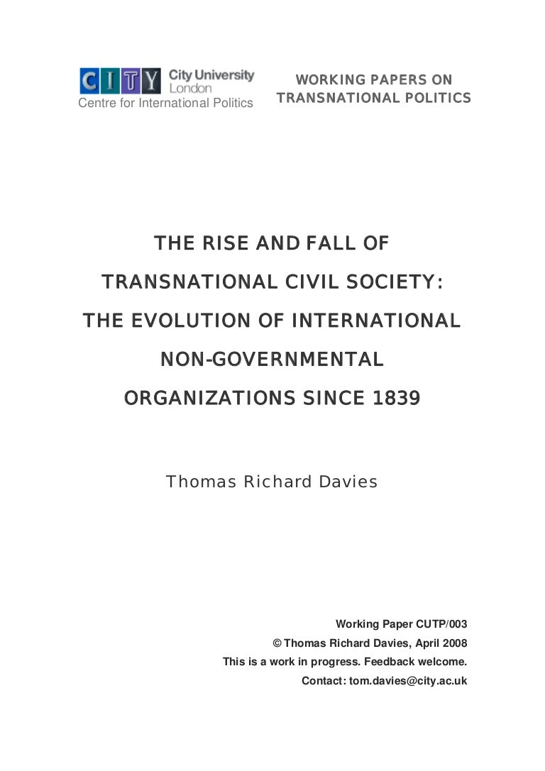 What is civil society: characteristics and history