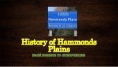 History of Hammonds Plains