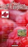 History of raspberries