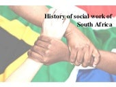 History of social work of south africa