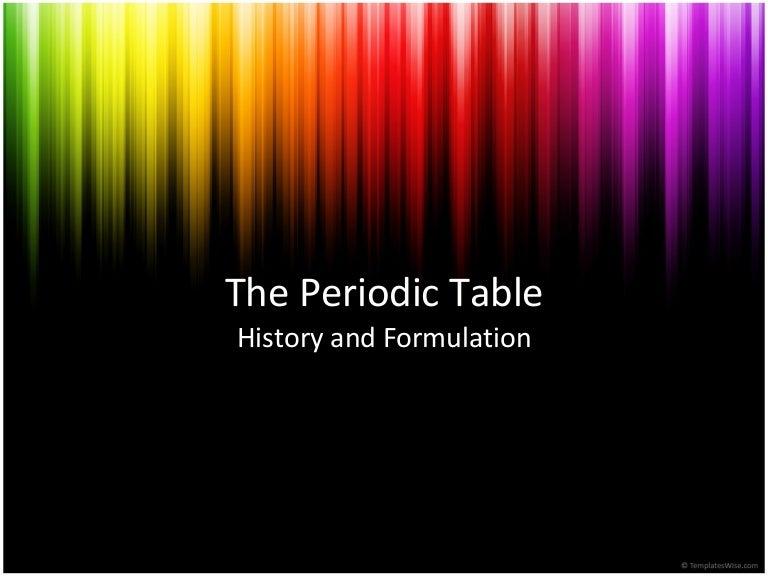 History periodic table urtaz Images