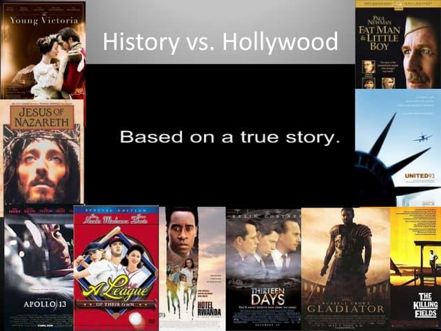 History vs. hollywood titles