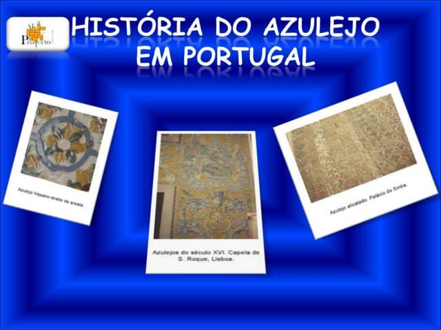 História do azulejo em portugal