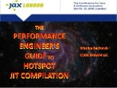The Performance Engineer's Guide To HotSpot Just-in-Time Compilation