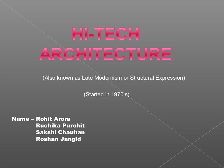 Hi Tech Architecture And Its Pioneering Architects Norman Foster