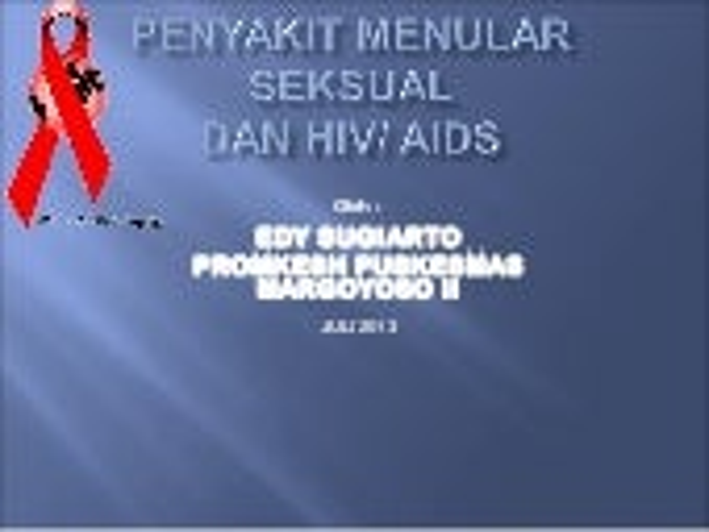 Hiv aids dan pms team puskesmas margoyoso ii