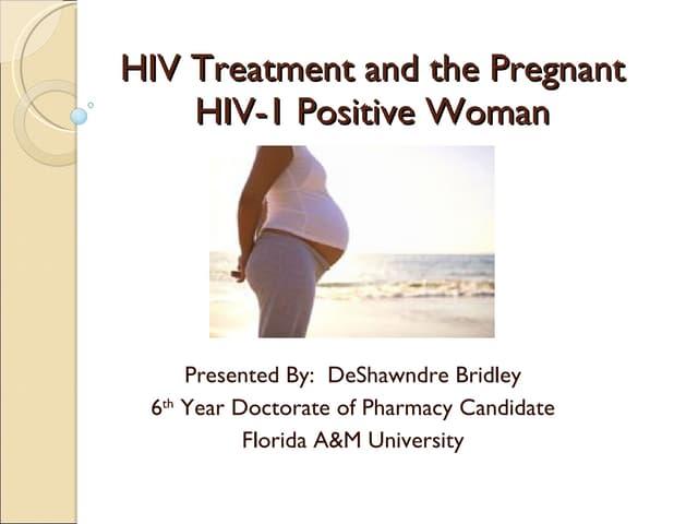 HIV Pharmacotherapy in Pregnancy