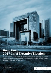 Hong Kong 2017 Chief Executive Election