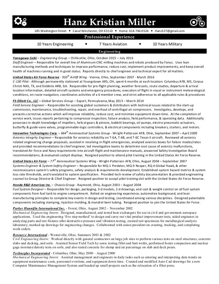 Aerospace Engineer Resume Example AppTiled Com Unique App Finder Engine  Latest Reviews Market News  Good Engineering Resume