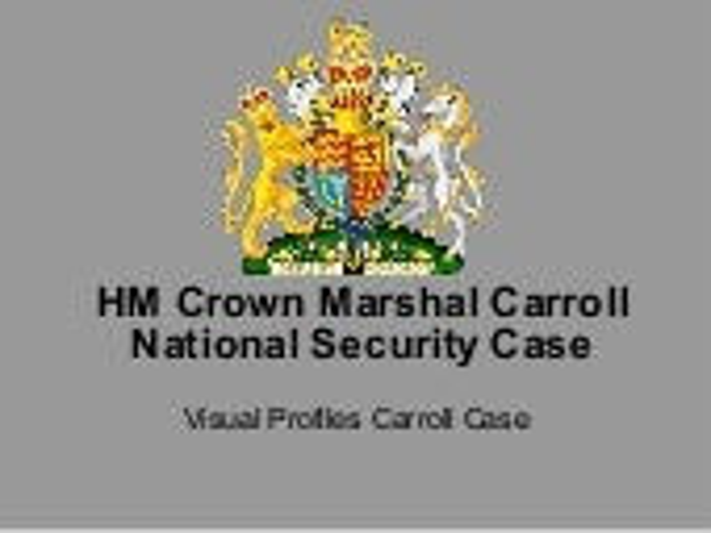 Westminster MPs = Economic National Security Public Interest Case