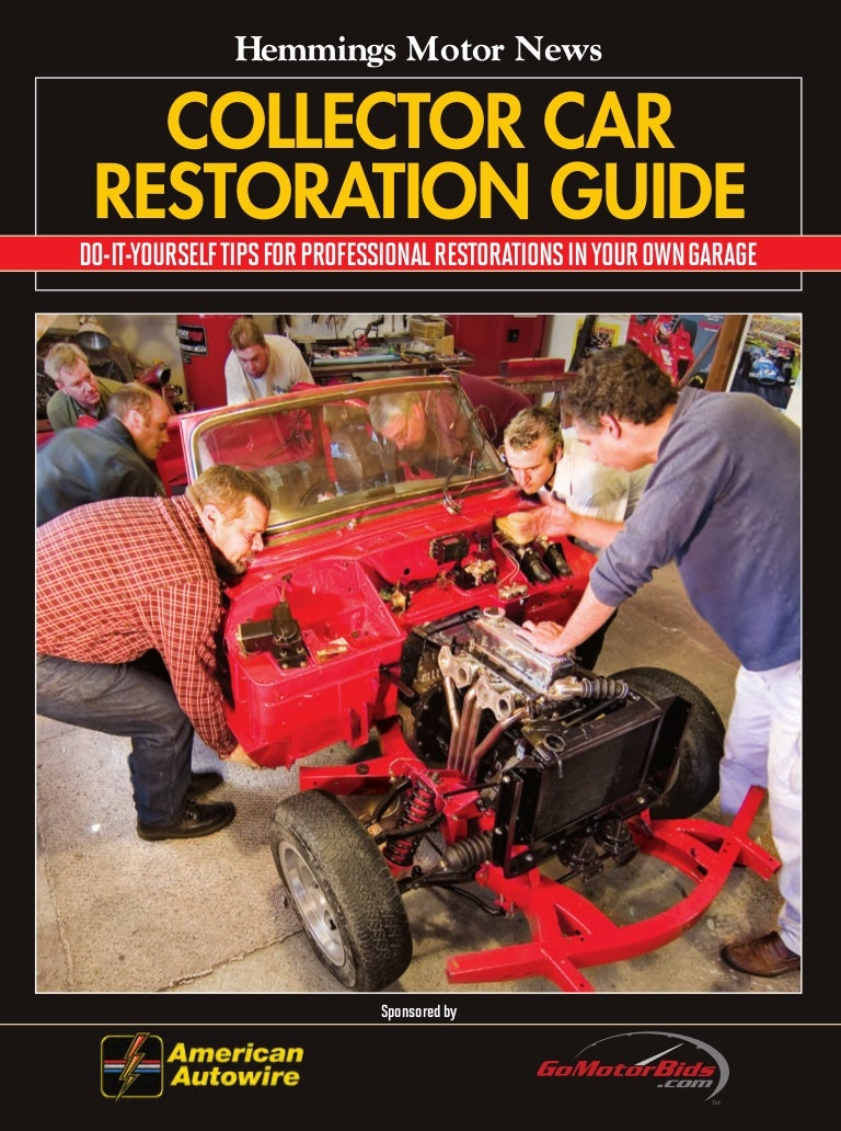 Hemmings Collector Car Restoration Guide 1929 Chevy Wiring Diagrams Automotive