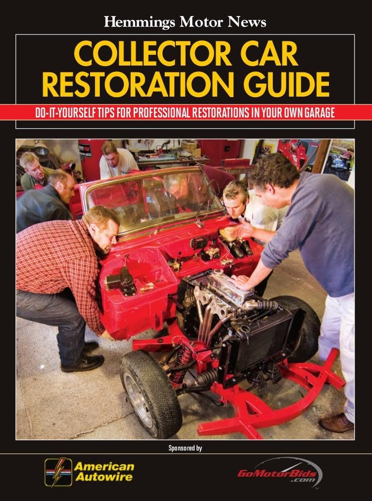 Hemmings collector car restoration guide solutioingenieria Choice Image