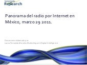 Harrenmedia Research Whitepaper: Panorama de la Radio por Internet en México