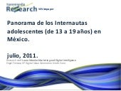 Harrenmedia Research Whitepaper Panorama Online Jovenes y Teens Mexico julio 2011