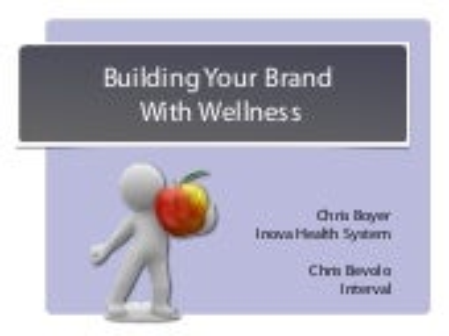 Building Your Brand With Wellness - Inova Health System's FitFor50 program