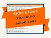 HNWatcher - Hackers News tracking made easy