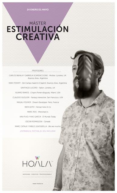 Dossier Master Estimulación Creativa 2014