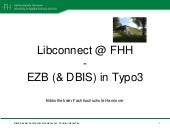 LibConnect @ FHH