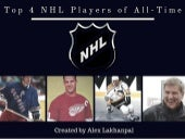 Top 4 NHL Players of All-Time